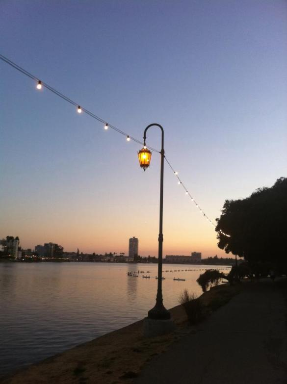 Lake Merritt Sunset