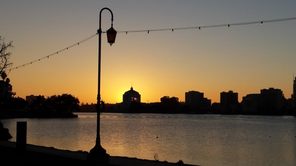 Peaceful Lake Merritt Sunset, Oakland, CA