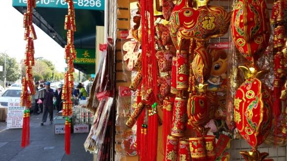 Chinatown, Oakland, CA  Gung Hay Fat Choy!