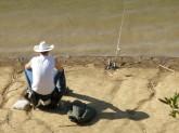 Fishing Dude, Lake Chabot