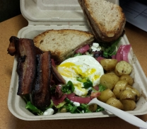 Breakfast Salad from Stag's Luncheonette