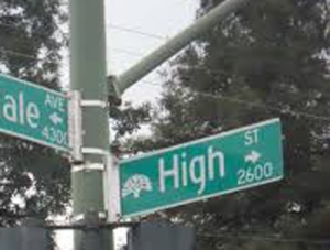 High Street and Brookdale, Oakland