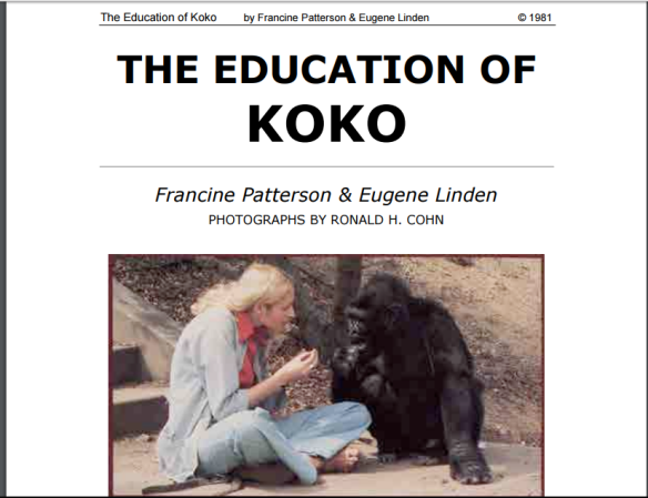 The Education of Koko, Patterson/Linden